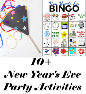 10+ New Years Eve Activity Round-Up
