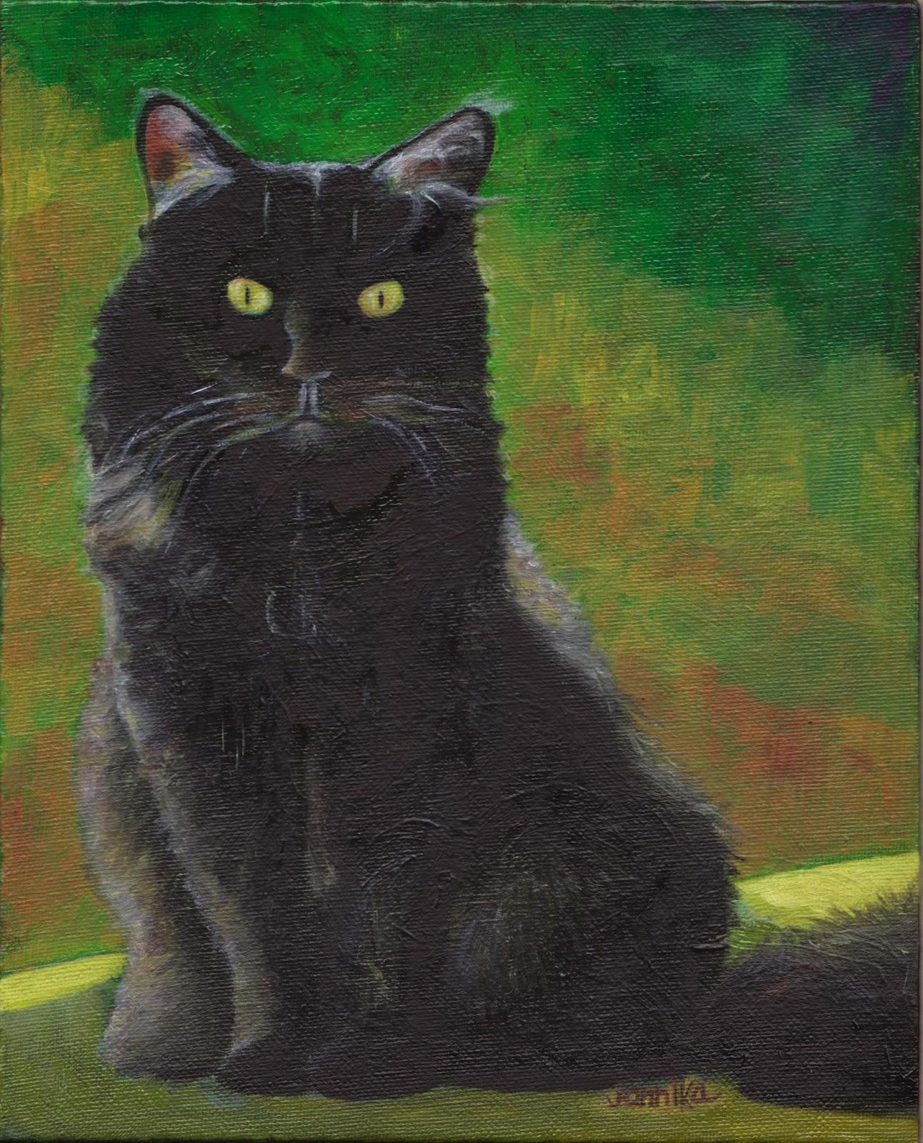 Power of the Flower: Painting: Cats......Matsie, Buddha ...