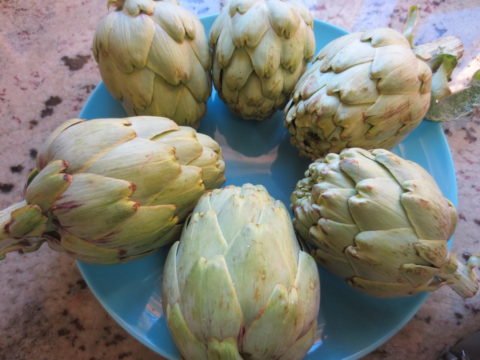 Alcachofas con jamón olla GM