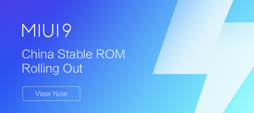 ROM Xiaomi Miui 9 China Stable
