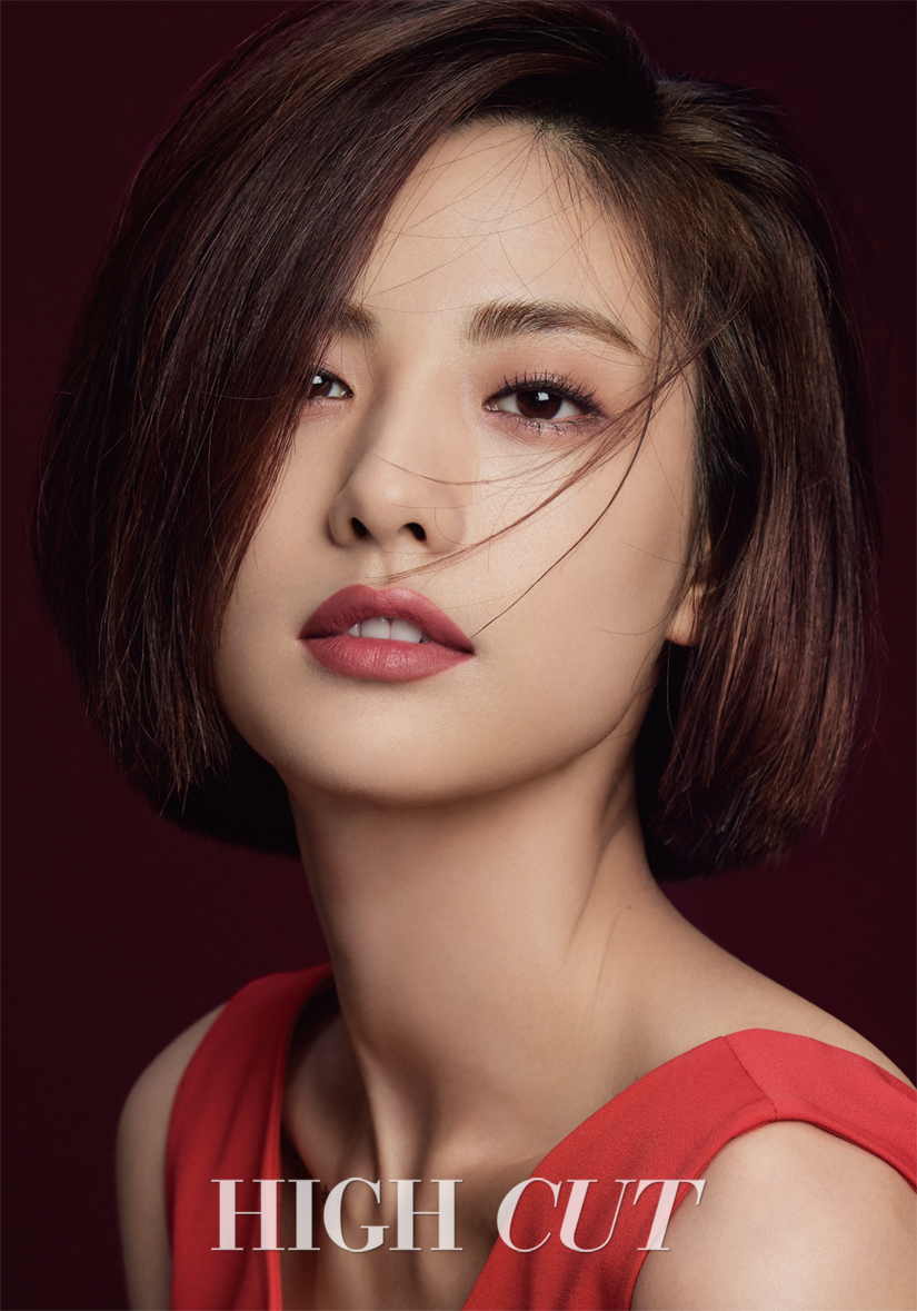 Nana Reveals Short Hair In A Seductive Pictorial For High