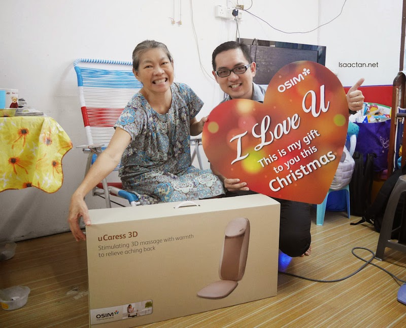 OSIM Say 'I Love You' With The uCaress 3D This Christmas