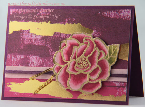 www.thecraftythinker.com.au, Sneak Peek Occasions Catalogue, Painted With Love, Beautiful Day, Stampin' Up