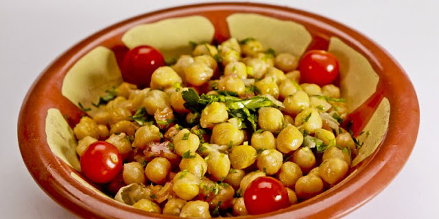 Balila / Chickpea Salad Recipe