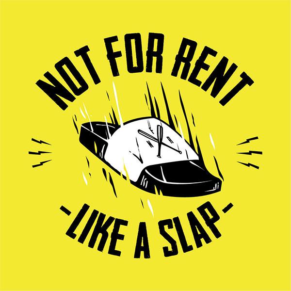 """Not For Rent stream new album """"Like A Slap"""""""