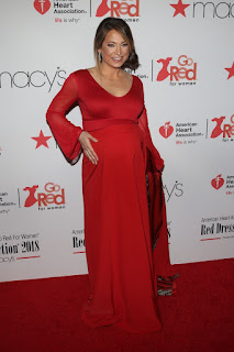 Ginger Zee At Go Red For Women Red Dress Collection 2018 presented By Macys In New York