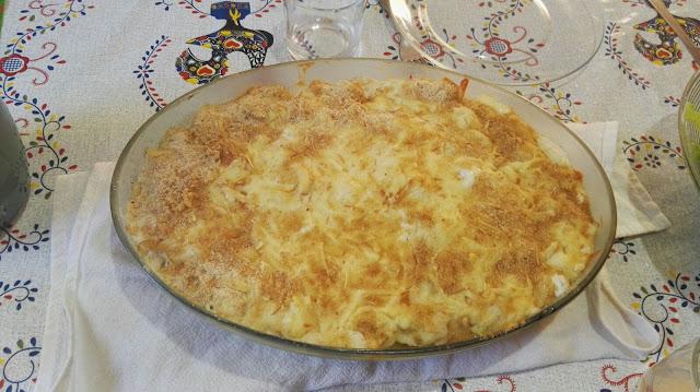 Lindo prato de Bacalhau com Natas