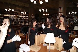 Presentació de la Plaquetona a la Biblioteca de l'Escola del Treball