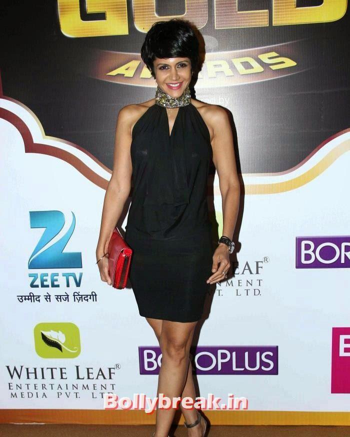 Mandira Bedi, Popular Tv Actresses on The Red Carpet of 7th Boroplus Gold Awards