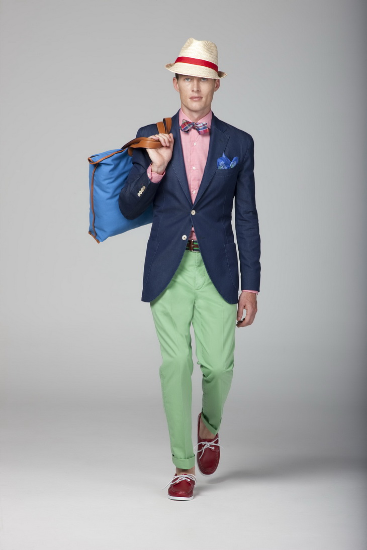 Mantomeasure What To Wear With Green Chinos