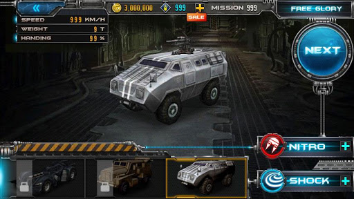 Zombie Road v1.05 Mod (Unlimited Gold) Apk Game Download