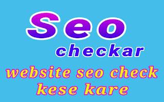 Website seo score check kese kare 1