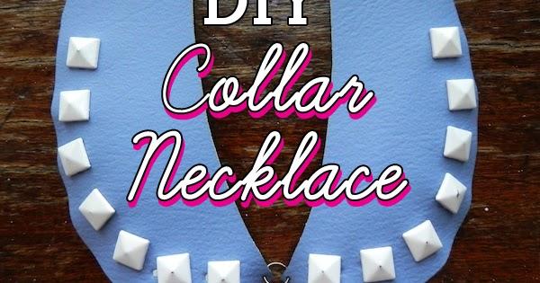Diy Vinyl Collar Necklace Neon Rattail
