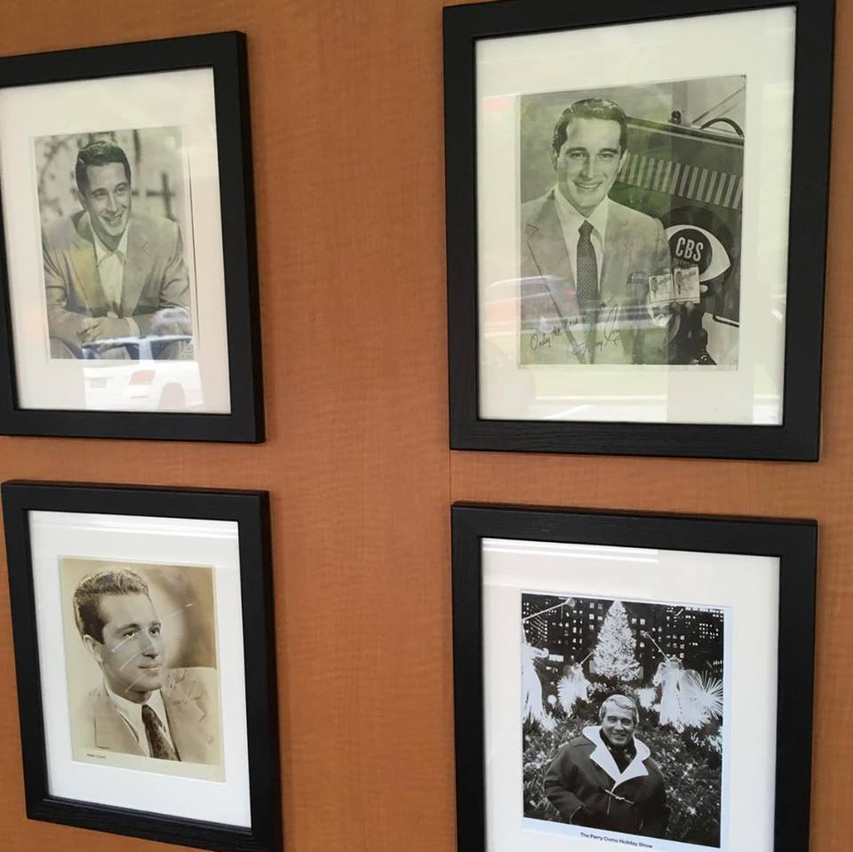 among the framed perry como photos on the walls of mcdonalds i also found one from his later christmas specials bottom right - Perry Como Christmas Show