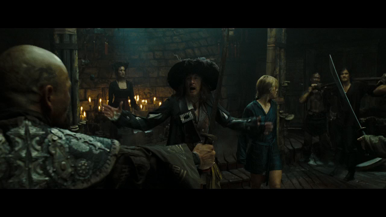 Piratas del Caribe 3: En El Fin del Mundo (2007) BRRip Full HD 720p Latino - Ingles captura 1
