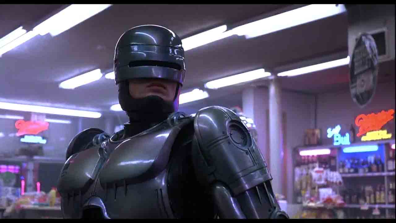 Screen Shot Of Hollywood Movie RoboCop (1987) In Hindi English Full Movie Free Download And Watch Online at worldofree.co