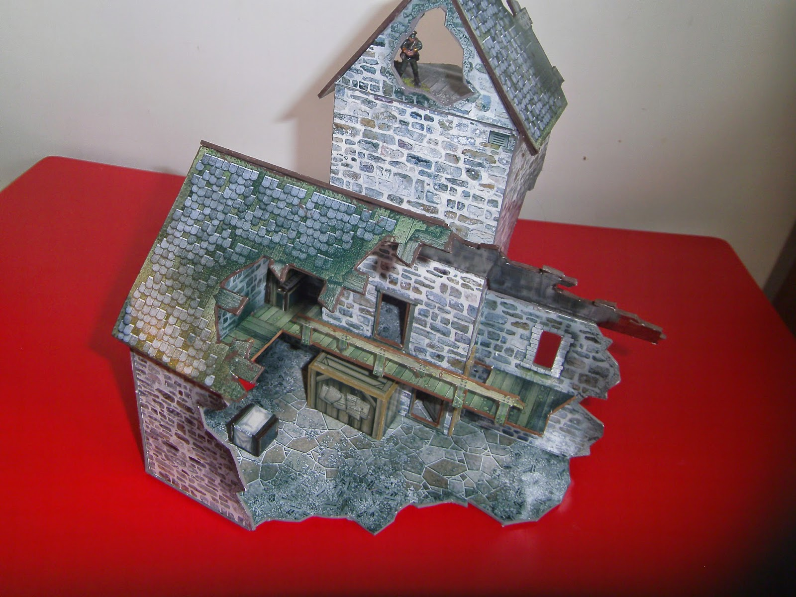Republic-The Irish Civil War Game: Church Ruin From Dave Graffam models