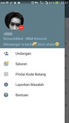 BBM Kimochi Messenger v3.3.1.24 MOD Apk Update Terbaru 2017 Gratis