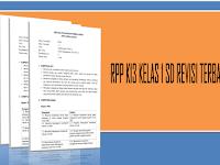 RPP K13 KELAS 1 SD REVISI TERBARU