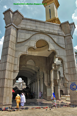 Entrance, Wilayah Mosque, KL, Malaysia
