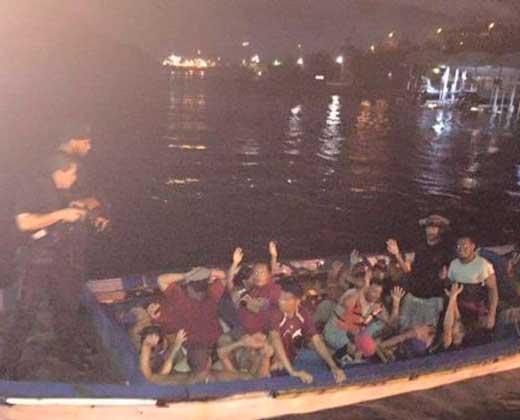 20 balseros venezolanos fueron detenidos en Curazao (+Fotos)