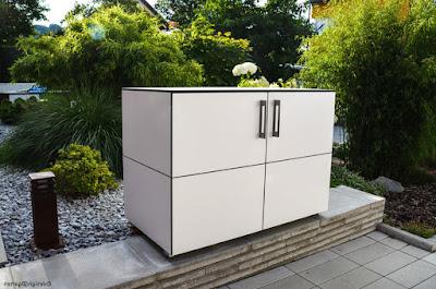 wetterfeste schr nke balkon. Black Bedroom Furniture Sets. Home Design Ideas