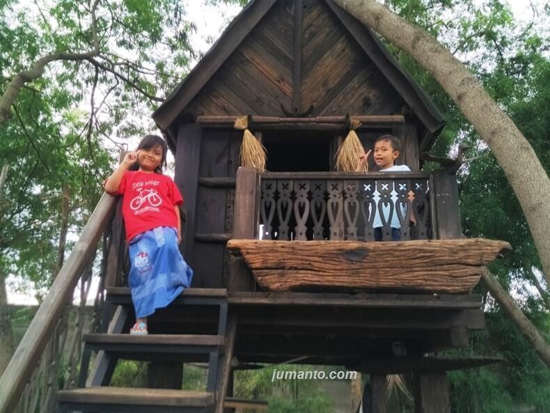 fasilitas baru rumah kayu lampung