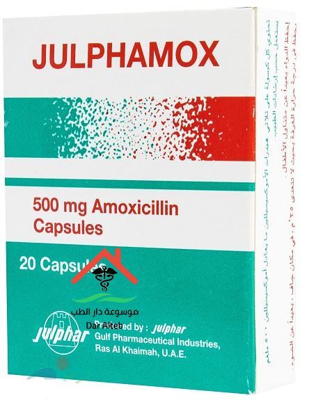 سعر ودواعى إستعمال جالفاموكس Julphamox مضاد حيوى لعلاج الألتهابات البكتيرية