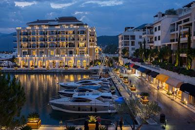 Zimski vez u marini Porto Montenegro