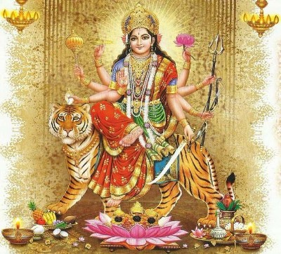 Durga Mata Hindu Goddess photo