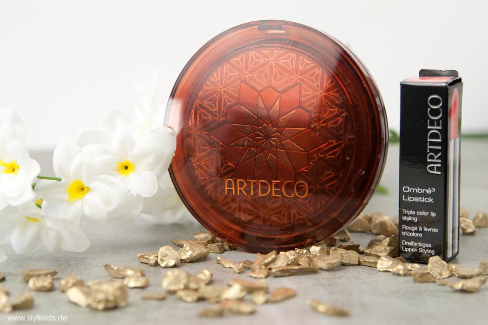 Artdeco - Bronzing Magnum Powder und Ombre Lipstick