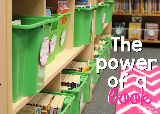 Books have a lot of power in a classroom, especially when you give students the CHOICE of what they want to read!