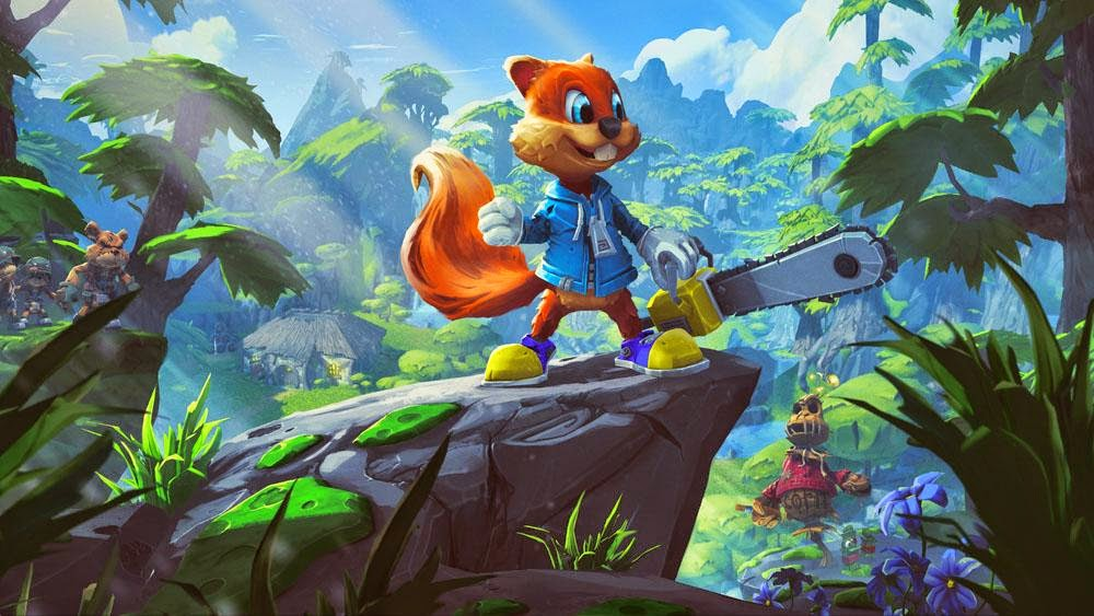 Conker's Big Reunion official artwork