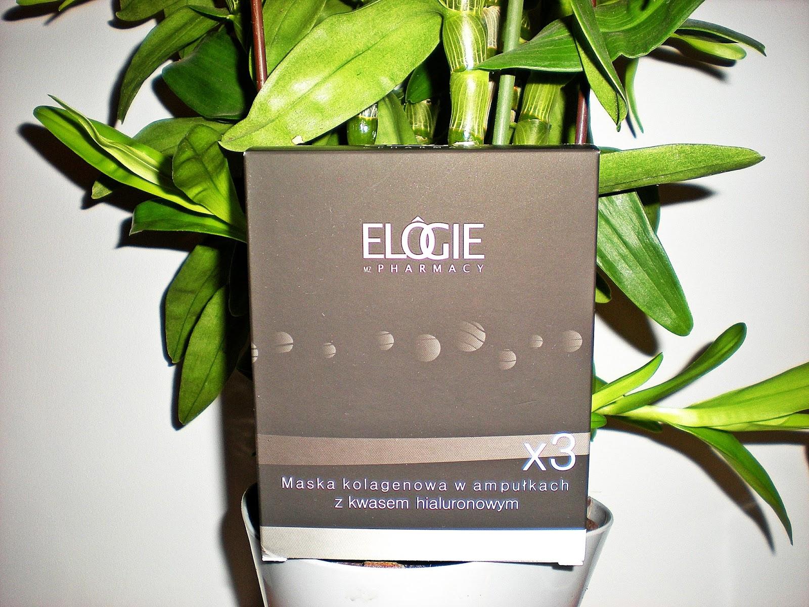 ELOGIE: Maski kolagenowe w ampułkach