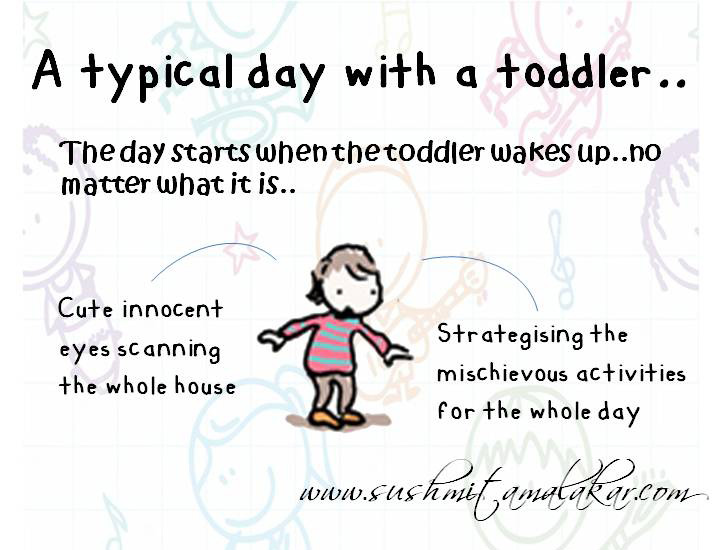 Life with a Toddler.