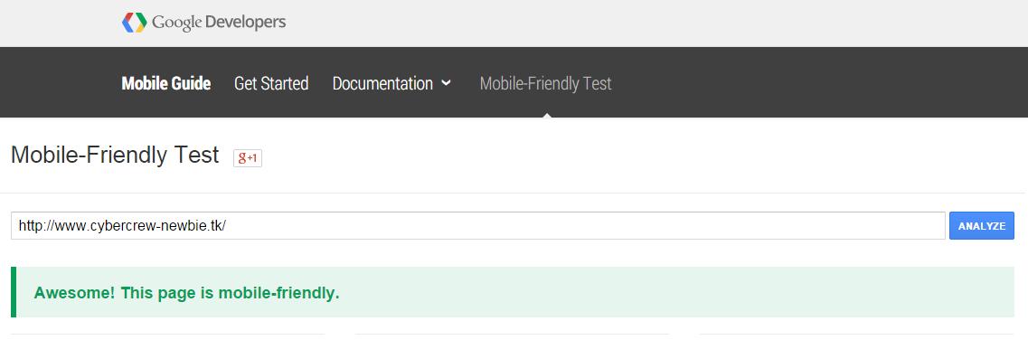 terbaru google akan mengoptimalkan situs yang mobile Google Resmi Luncurkan Algoritma MobileGeddon