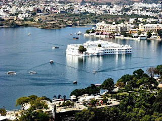 Arial View of Lake Pichola, Lake Pichola, Heritage Sites in Udaipur, Heritage of India, Udaipur Tourist Attractions, Udaipur Tourism, Udaipur Tourist Information, Visit Udaipur, Places To Visit in Udaipur, Udaipur Tourist Guide