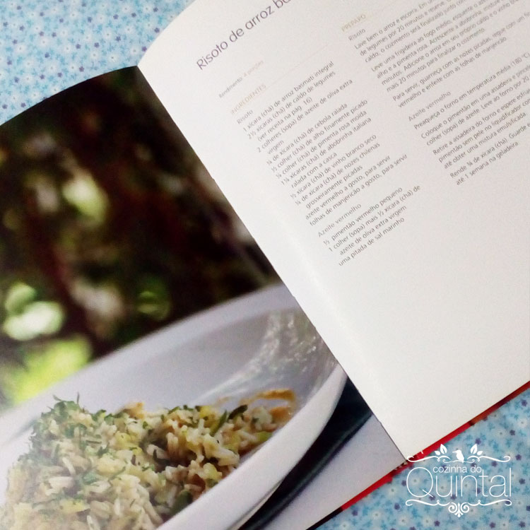 O livro da Tatiana Cardoso é imperdível para quem trabalha com alimentação natural. Recomendo!!