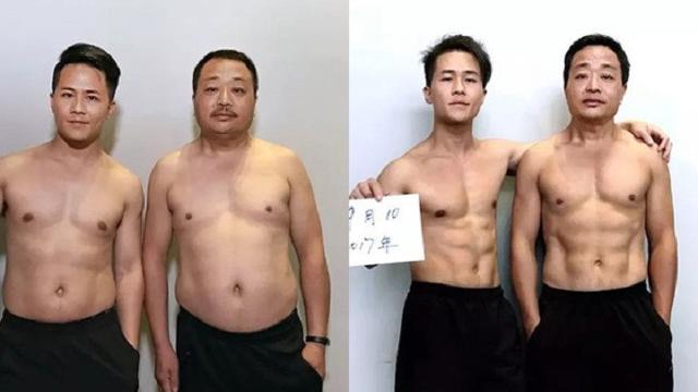 Agar Ayah Mau Diet, Pria Ini Rela Naikkan Berat Badan 10 Kg