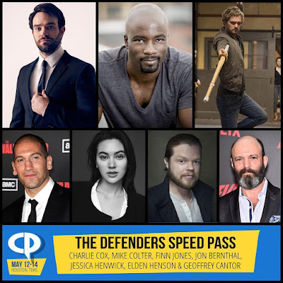 The Defenders & Marvel's Netflix Universe Headline Houston's Comicpalooza 2017!