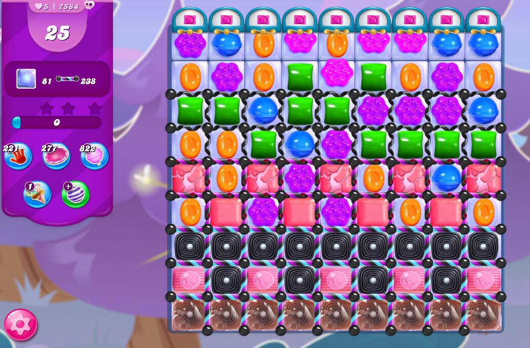 Candy Crush Saga level 7584