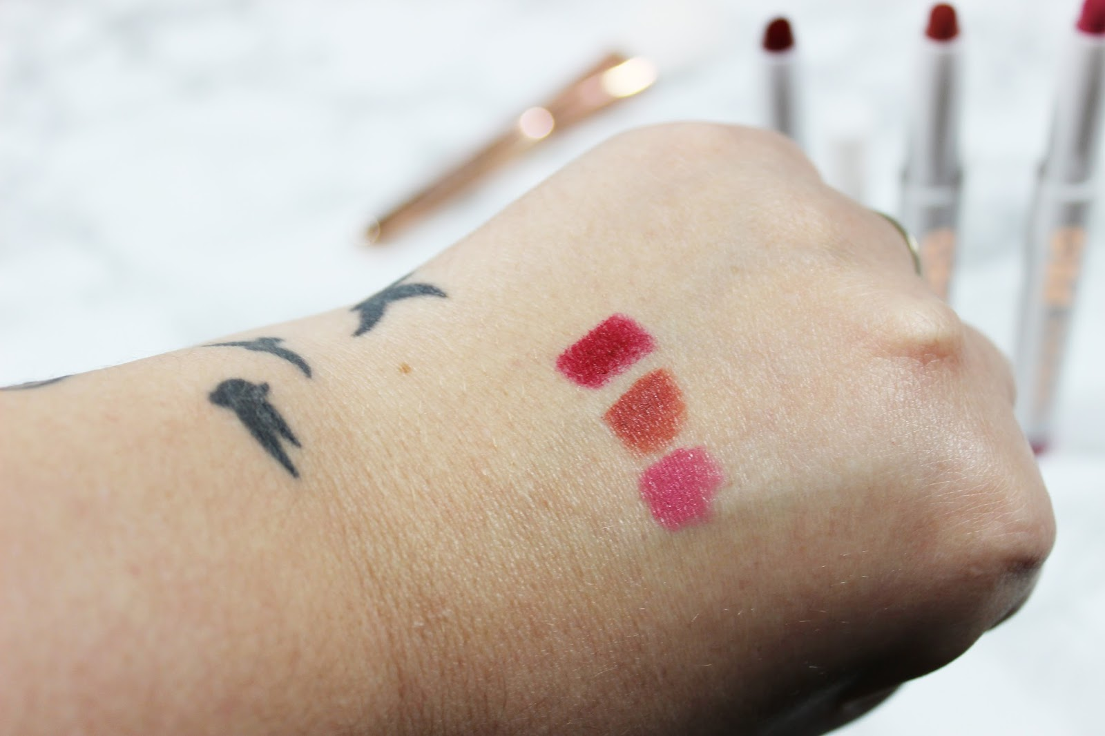 Lorac Mocktail Mixer Swatches