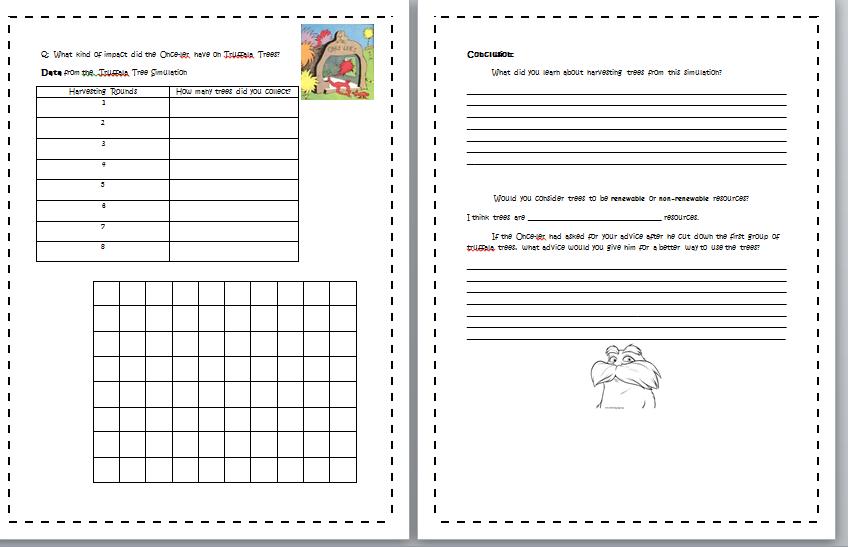 Printables Lorax Worksheets lorax worksheets davezan the davezan