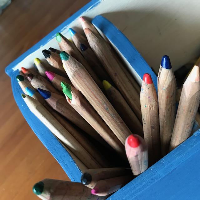 Wochenende in Bildern: Buntstifte