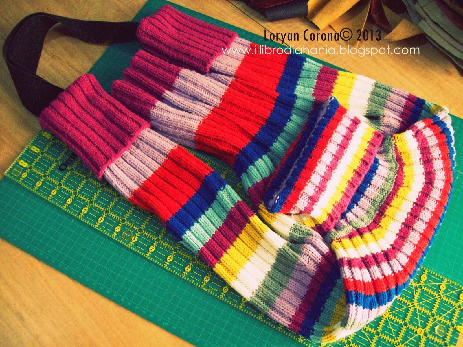 Riciclare un maglione: come fare una borsa - Tutorial