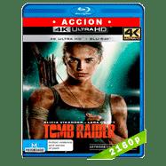 Tomb Raider: Las aventuras de Lara Croft (2018) 4K UHD Audio Dual Latino-Ingles