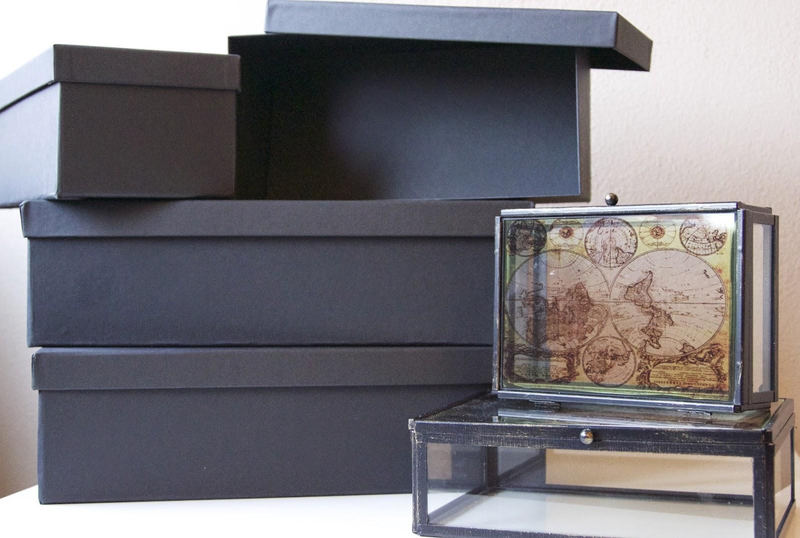 tjena ikea opbergdoos dozen box glazen kistjes xenos