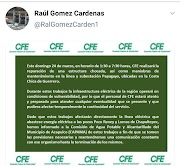 CFE avisa de corte de luz a bombeos de la Capama este domingo