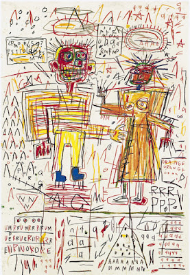 Basquiat-self-portrait-with-suzanne-1982