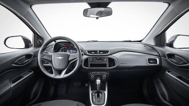 Chevrolet Prisma Advantage 2018 Automático - interior
